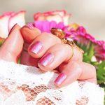 Roses Nail Varnish Beauty Manicure Pink